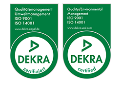 DEKRA Quality and Environmental Management ISO 9001 + ISO 14001